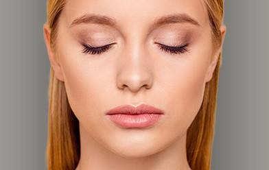 Facial Procedures photo with a beautiful blonde girls face