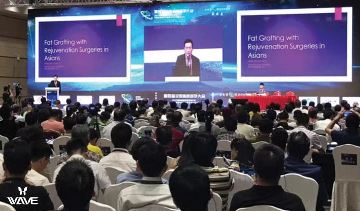 Dr Lee Speaks in China